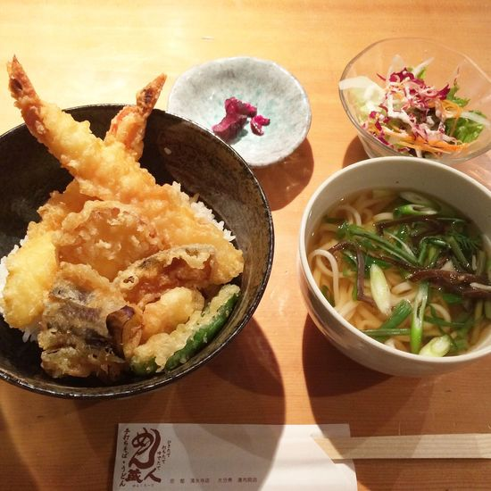 Food Porn Awards うどん Tempura 天丼 Kyoto Japan Yummy Udon Check This Out Japanese Food