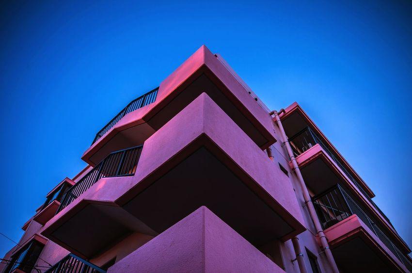 Pink Blue Blue Sky FINEART Japan