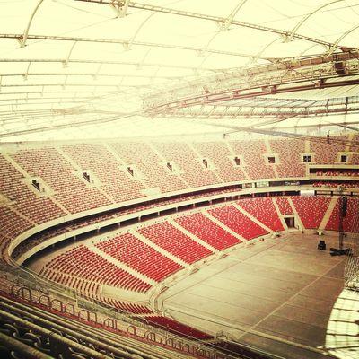 National Stadium In Warszawa Poland