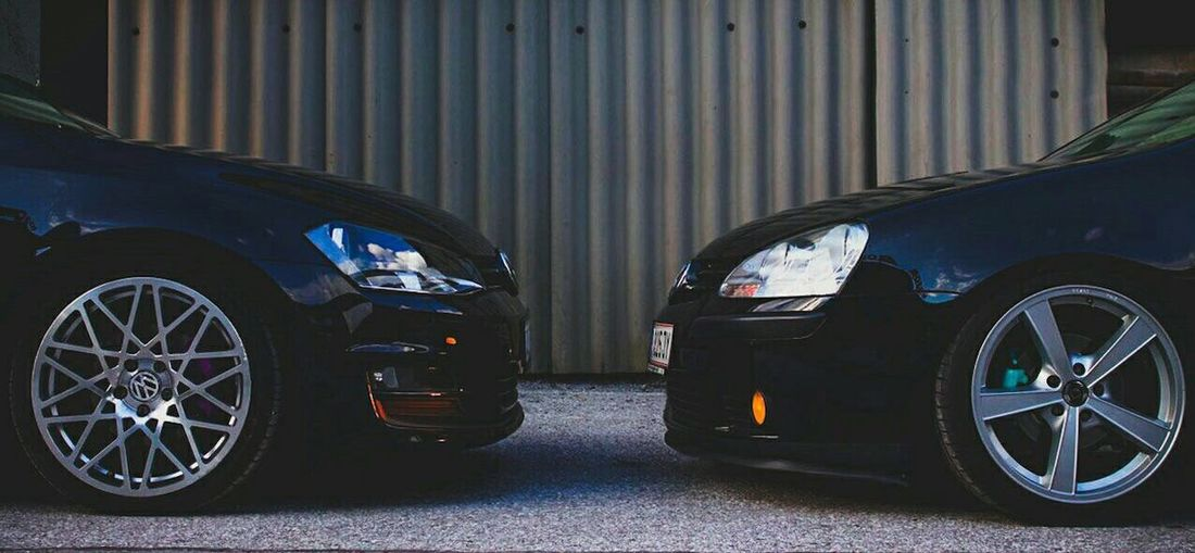 ❤️B.R.O.T.H.E.R.S❤️ Car Golf5 Golf7 Mk7 Mk5 Volkswagen Bagged Canonphotography Rotiform Vwbrothers Golf Canon Photography Carlovers No People Cars