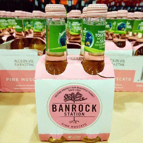 粉紅色的氣泡酒🍓Banrockstation Pinkmoscato Pink Lovemylife 愛曼達