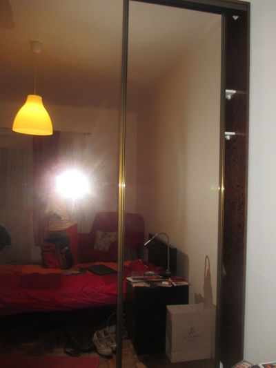 Paint The Town Yellow Reflection Electric Lamp Illuminated Indoors  No People Yellow Yellow Light