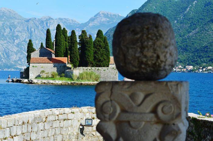Sveti đorđe Kotor Montenegro Our Lady Of The Rocks Bay Of Kotor