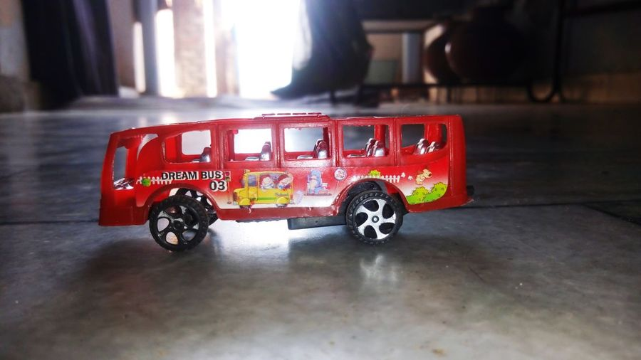 Toy Bus Firefighter Fire Engine Red Toy Car Vehicle Toy Pinwheel Toy