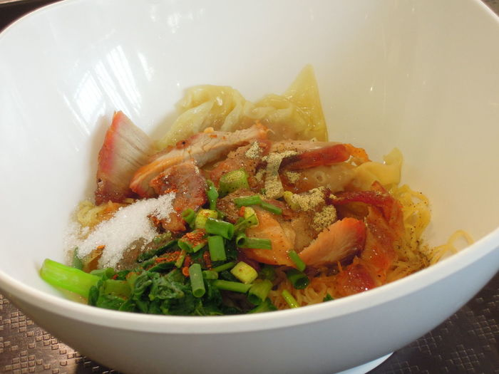 Close-up of food in bowl