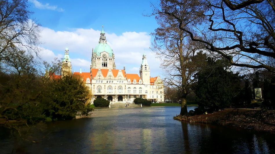 Rathaus Hannover, Germany Lower Saxony Hannover Hannover City Niedersachsen Office Building Official Building Repräsentativ