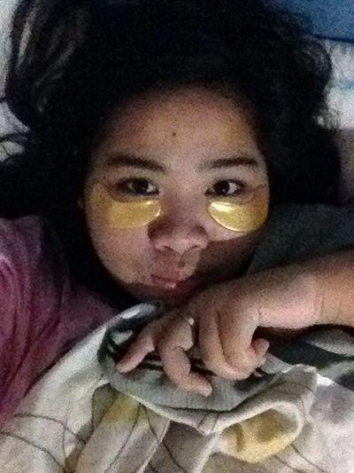Gold Mask Sleepy Tonight My Room
