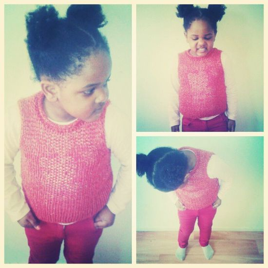 My Litlle Sister Is Back Love Her Red Style good day Beautiful Cute Afro Girl Instagood Instamoment Instagrammer Heart Sun Day
