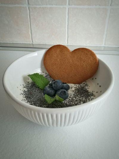 Colazione Time  Breakfast Time Love Yogurt Menta Mirtilli