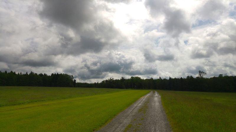 Rain break Outdoors Allgäu Enjoying Life Natural Beauty Laufen Fitness Training Storm Cloud Country Road Countryside