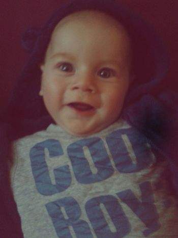 Baby Boy Cute Six Months Cool Boy