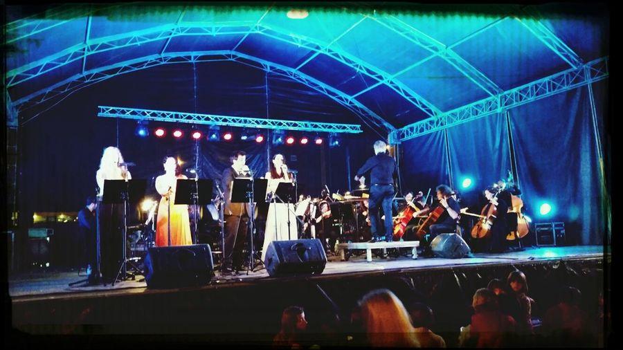 """""""Reviver Carlos Paião"""", com a Orquestra Filarmonia das Beiras. Live Music Praiadavagueira Verao2014"""