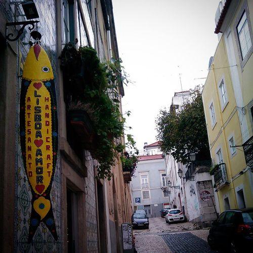 Façam-nos uma visita! Encontrem a sardinha na Travessa da Boa-Hora, n• 39, no Bairro-Alto! Esperamos por vocês :) <3 Visit us in Travessa da Boa-Hora, n• 39, Bairro-Alto, Lisboa! Search for the sardine! We'll be waiting for you :) <3 Lisboaamor Lisboa Amor Artesanato portugueseartisans bairroalto lissabon lisbonne lisbon lisbonlovers supportus madeinportugal