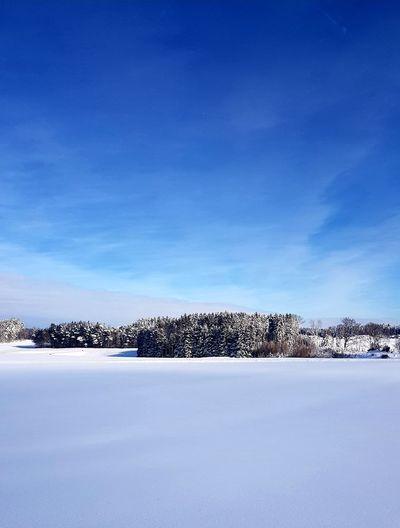 Snow Water Lake