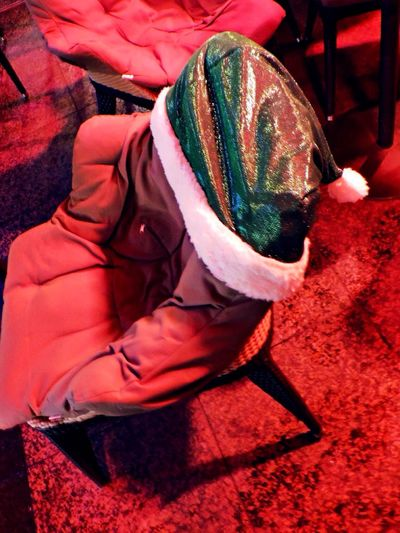 Finding New Frontiers Textile Traditional Clothing Close-up Santa Chair Cozy On The Street