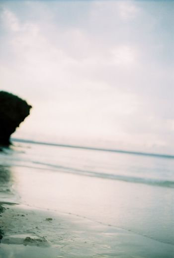 Sea Water Beach Nature Beauty In Nature Sand No People 35mm 35mmfilmphotography 😚