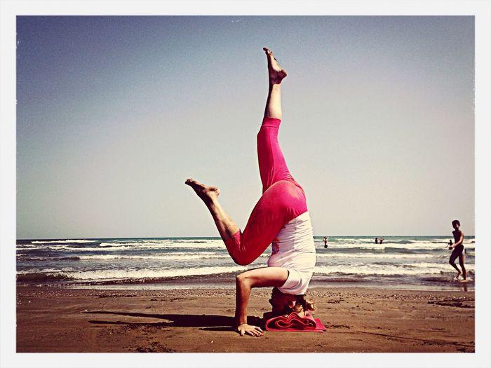 YogaShahi Yoga ॐ Sabina Shahi Beachyoga