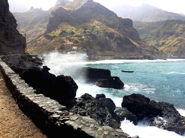 Cabo Verde Sant Antao Janela Traveling Taking Photos Enjoying Life Hello World Sea Mountains Nature