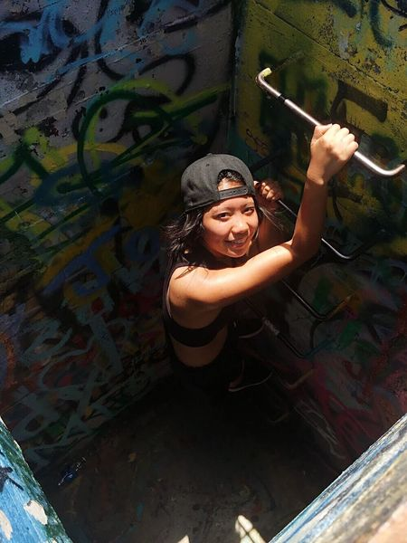 Tb. Missing hiking, adventure \m/ Adventure PILLBOX Hiking Hawaii One Person Lifestyles Looking At Camera Portrait Smiling