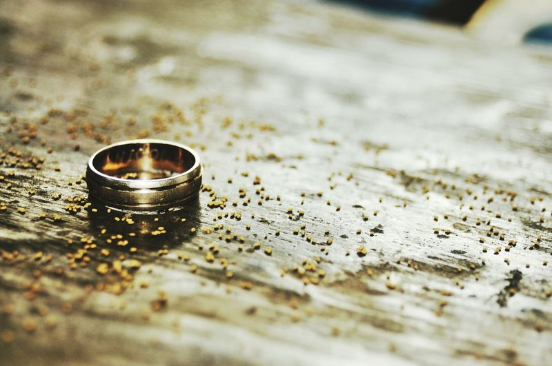 Close-Up Of Wedding Ring