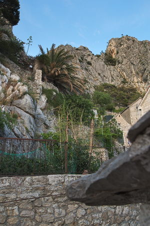 Mountain No People Outdoors Day Sky Scenics Beauty In Nature Nature Rocks And Water Omis Croatia