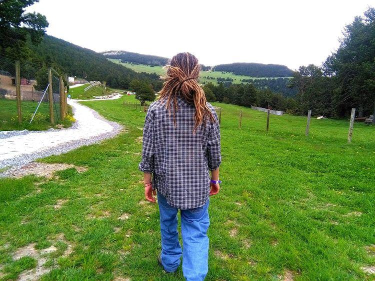 Walking away Nature GREEN LIFE