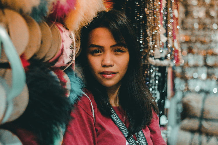 Asian  Filipina EyeEm Selects Beautiful Woman Young Women Portrait Beauty City Beautiful People Women Fashion Red Multi Colored Make-up Modern Workplace Culture