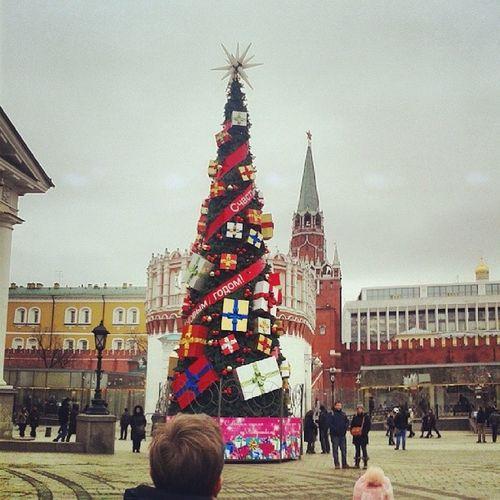Moscow ёлка кучаподарков новыйгод