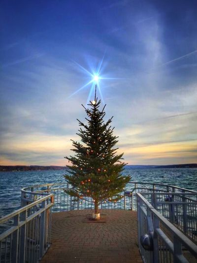 Christmas Around The World IPS2015Xmas I live near the Finger Lakes in New York. This is how we celebrate Christmas lakeside. 🎄✨