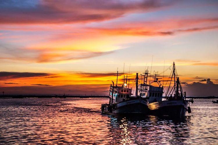 Sea And Sky Twilight