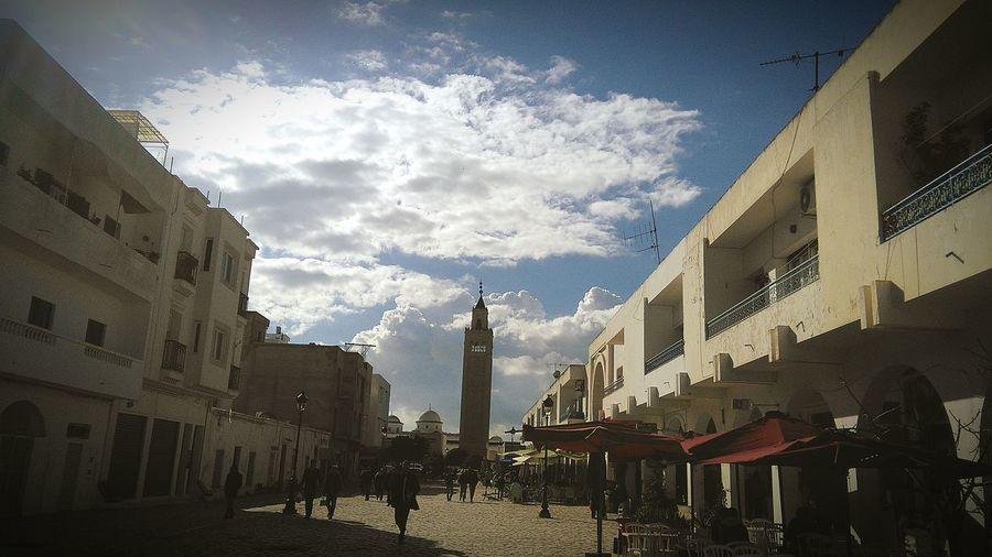 Mosque Tunisie Clouds And Sky Sunshine La Marsa Praying Enjoying Life