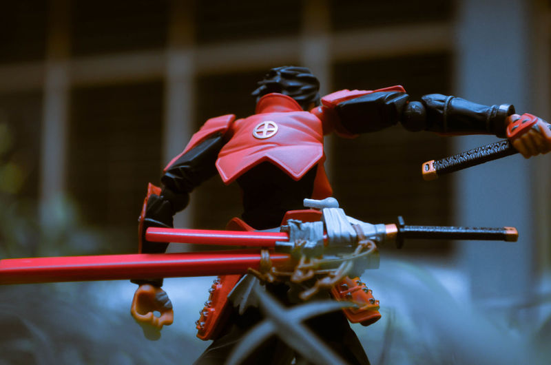 Ronin Samurai Sword Swords Samurai Spirit Bushido Japan Toy Toyphotography Toys Toy Photography Toyslagram Toysaremydrug Toys4life Red Relaxing Red Color Cold Temperature Toyohisa Shimazu Rage