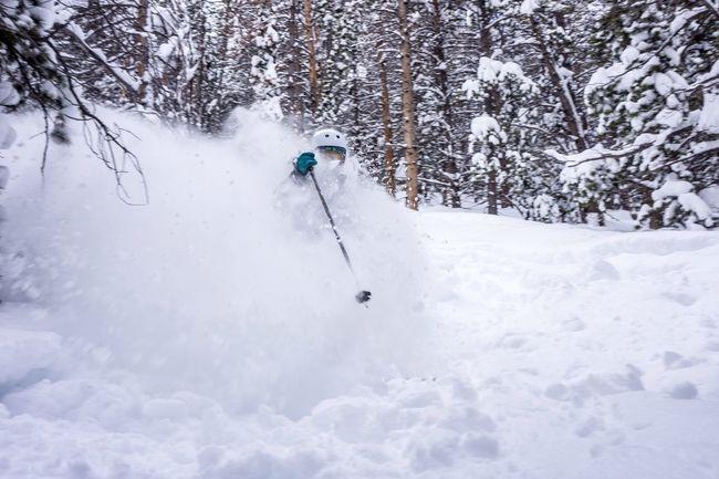 Vail,co Skiing Powder Vail pow day Colorado