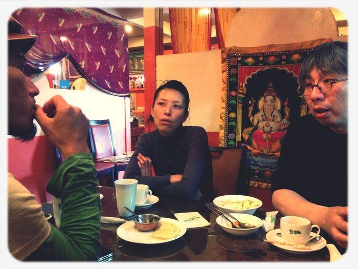 Sawaさんとチャイできました。