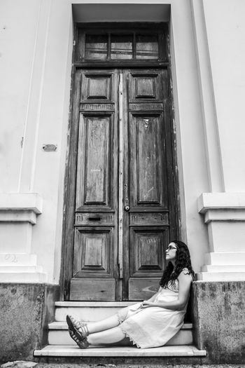 Inmensidad EyeEm Best Shots Nikon D5100  Paraguay-Asuncion Black And White Lovephotography  Loneliness Women Of EyeEm Doors Lover I Love My City