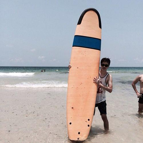 Let's go surf! Beach 2015