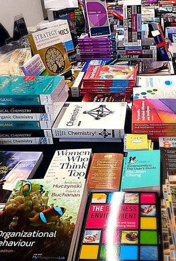 Stall Selling University Books Academic Books Student Life Higher Education Academia