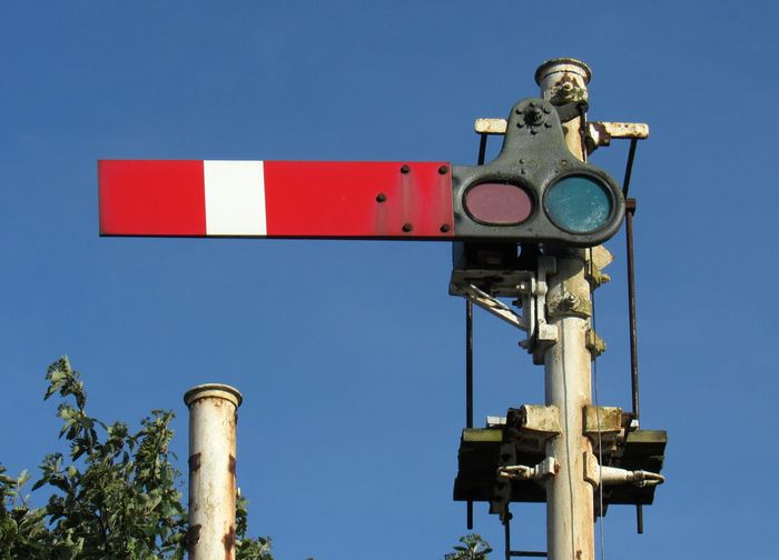 Nunthorpe Rail Signal North Yorkshire Rail Signal Red Station Transportation No People Nunthorpe Rail Railway Sign Stop