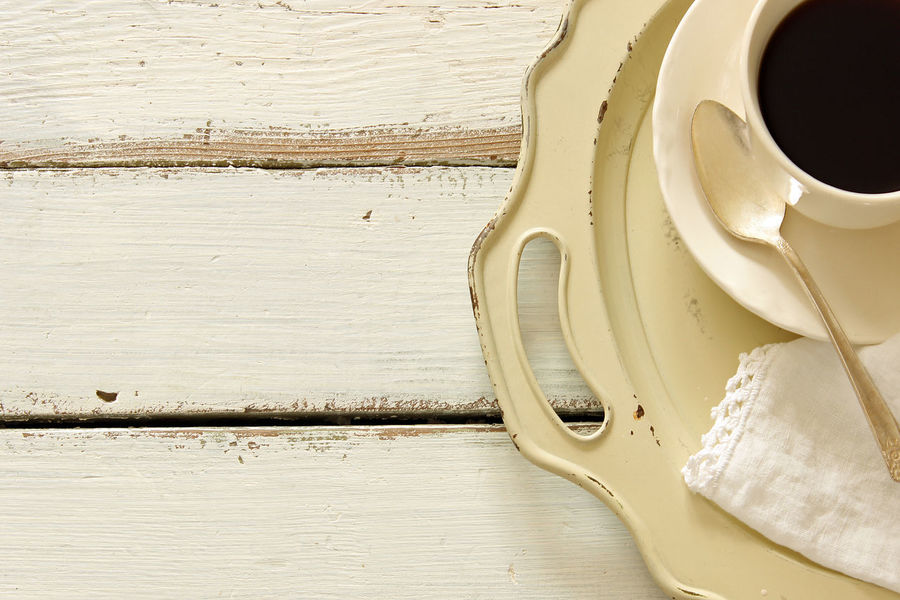 Coffee time Border Breakfast Brunch Charming Coffee Coffee Break Cup And Saucer Design Frame Hot Drink Kitchen Table Linen Napkin Mock Up Morning Coffee Overhead Serving Tray Styled Teaspoon Top View Top View Of Food Vintage White