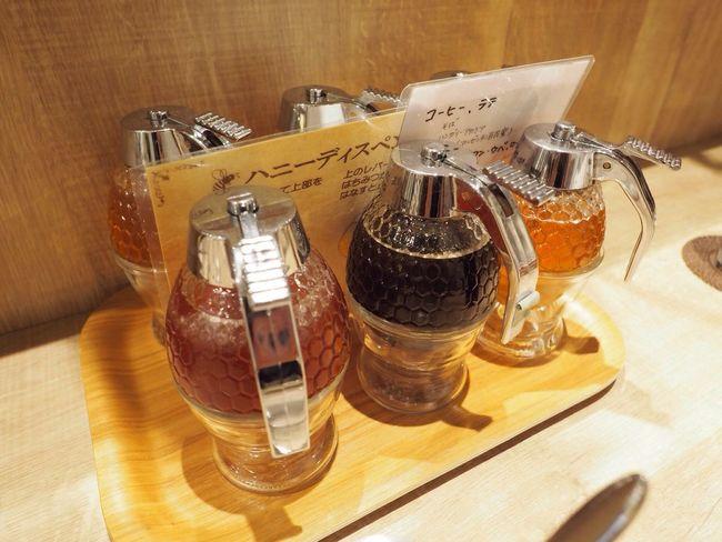 Kyoto Japan Kawaramachi Miel Mie Honey Delicious Olympus PEN-F 京都 日本 河原町 蜂蜜 蜂蜜専門店 蜂蜜かけ放題 激ウマ