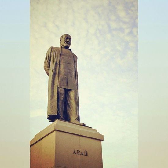 абай гордость нации Астана казахстан abai astana astanacity astanagram kazakhstan kaztagram kz instakzbirlik instalike instakzunique instamood instadaily instagramhub insta instacool instagood photo photooftheday picoftheday photoartkz art statue monument
