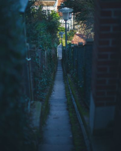 Back alleys City Architecture Backalley Moody Wallpaper WallpaperForMobile Summer Outdoors No People Adventure