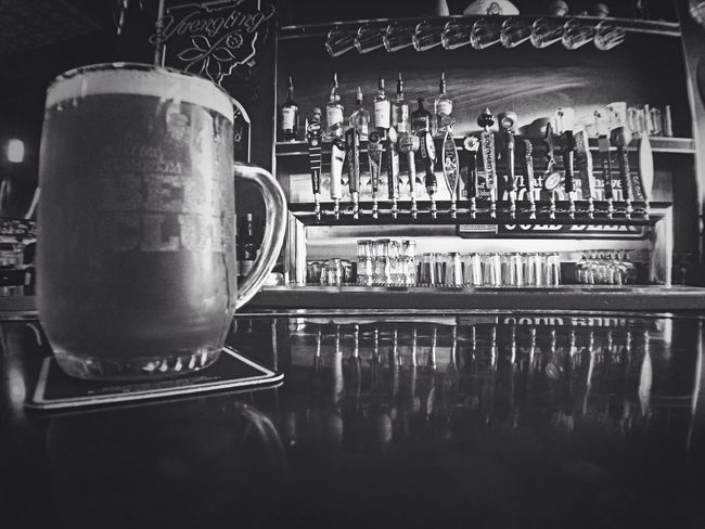 Its a black & white kind of day .. Single For Life Beer Club Mellow Mushroom Black And White