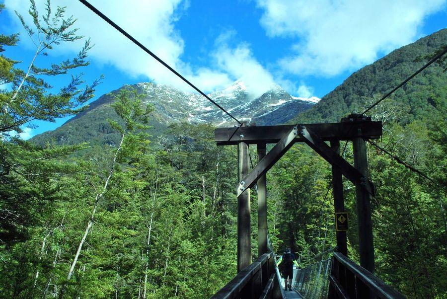 NZ Routeburn Track Routeburn Mountain