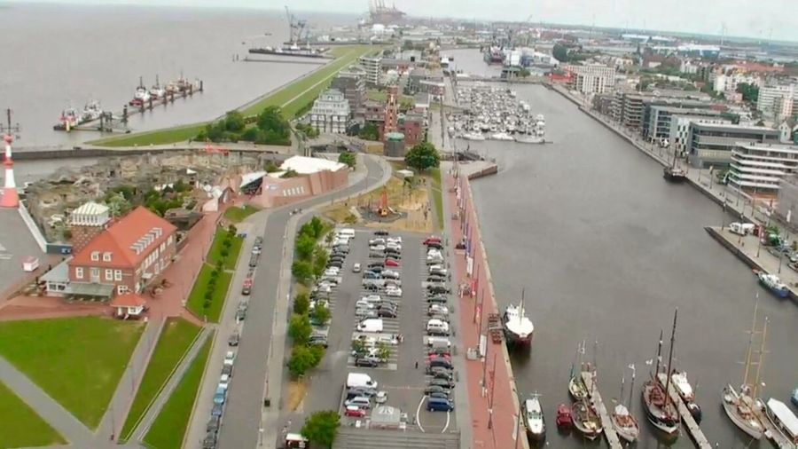 Bremerhaven Bremen Ship Mode Of Transport City City Life Water No People