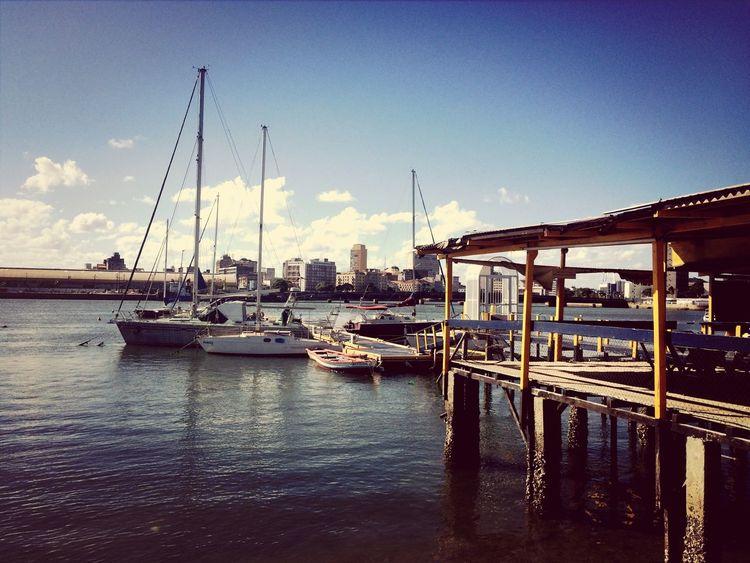 Recife Capibaribe River Sea