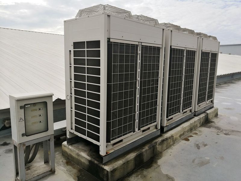 Condenser coil airconditioning unit Cooling  Ventilate Condenser Coil Water Beach Air Conditioner Electric Fan Fan Ceiling Fan Beach Hut Office Building Lifeguard  Hut Lifeguard Hut Exterior Stilt House Hooded Beach Chair Residential Structure Thatched Roof