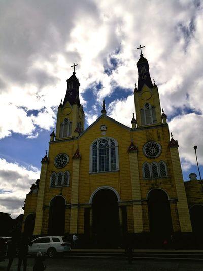 Iglesia San Francisco, Casto, Chile.