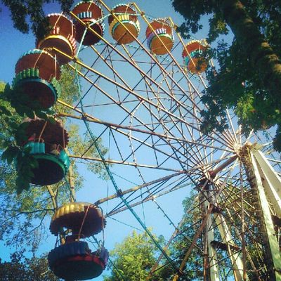 Ferris Wheel in Vinnitsa Vnua Attraction Park