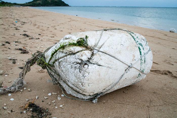 Abandoned Beach Float Japan No People Okinawa Sand Sea Water EyeEmNewHere